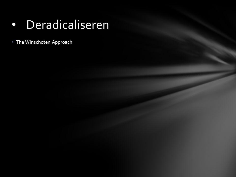 The Winschoten Approach Deradicaliseren