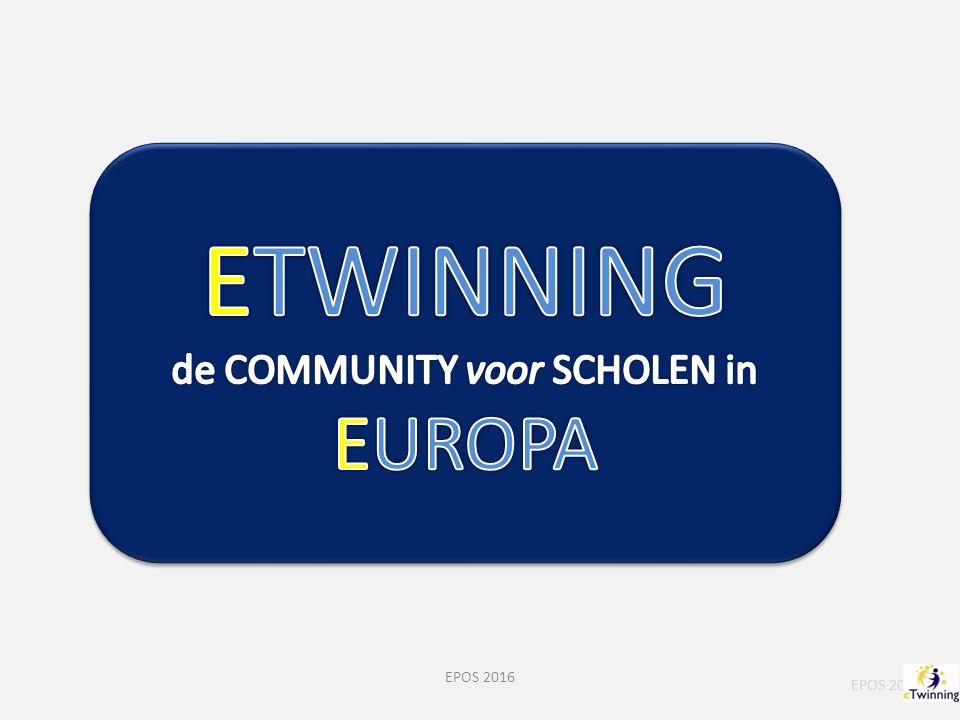 eTwinning Belgium Flemish Community EPOS 2013 EPOS 2016