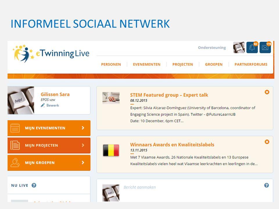 INFORMEEL SOCIAAL NETWERK