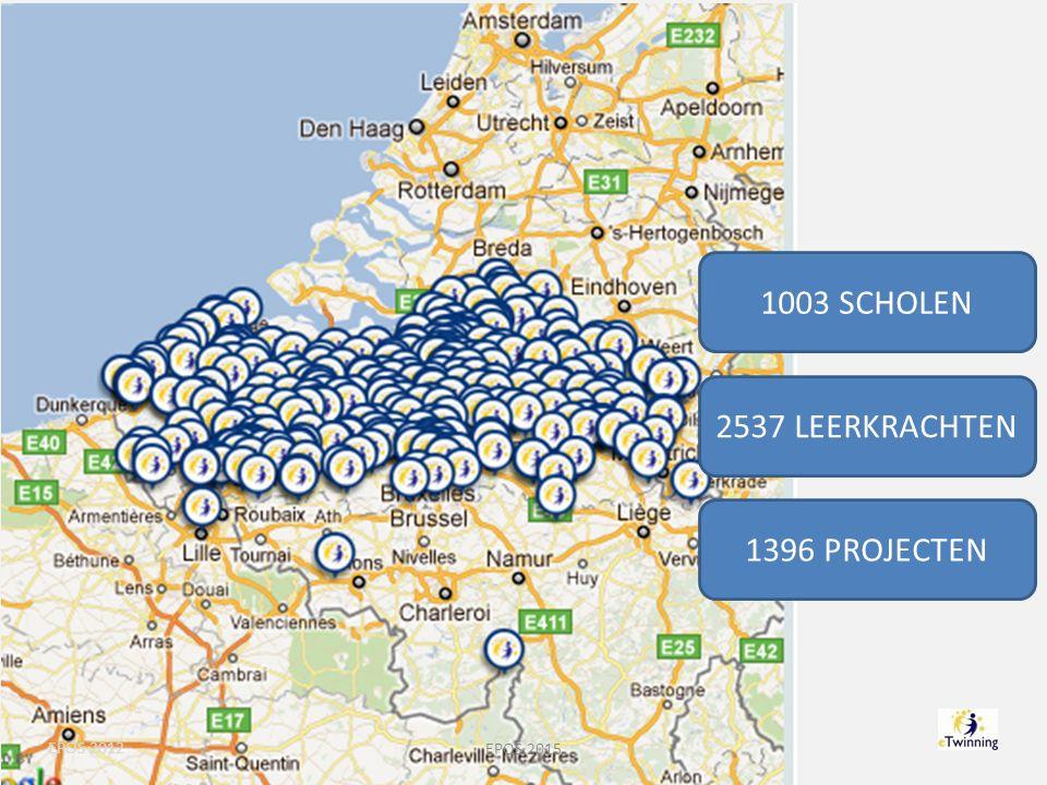 1003 SCHOLEN 2537 LEERKRACHTEN 1396 PROJECTEN EPOS 2012