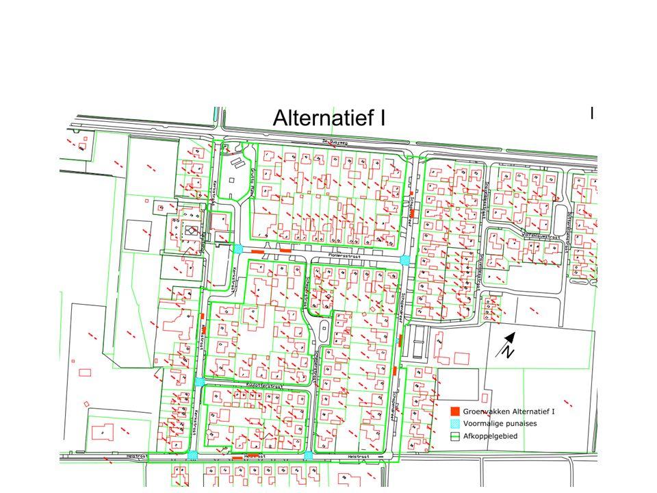 Voorkeursalternatief werkgroep Scoringstabel – Inrichtingsvarianten Verlagen bermen Grasbetonstenen i.c.m.
