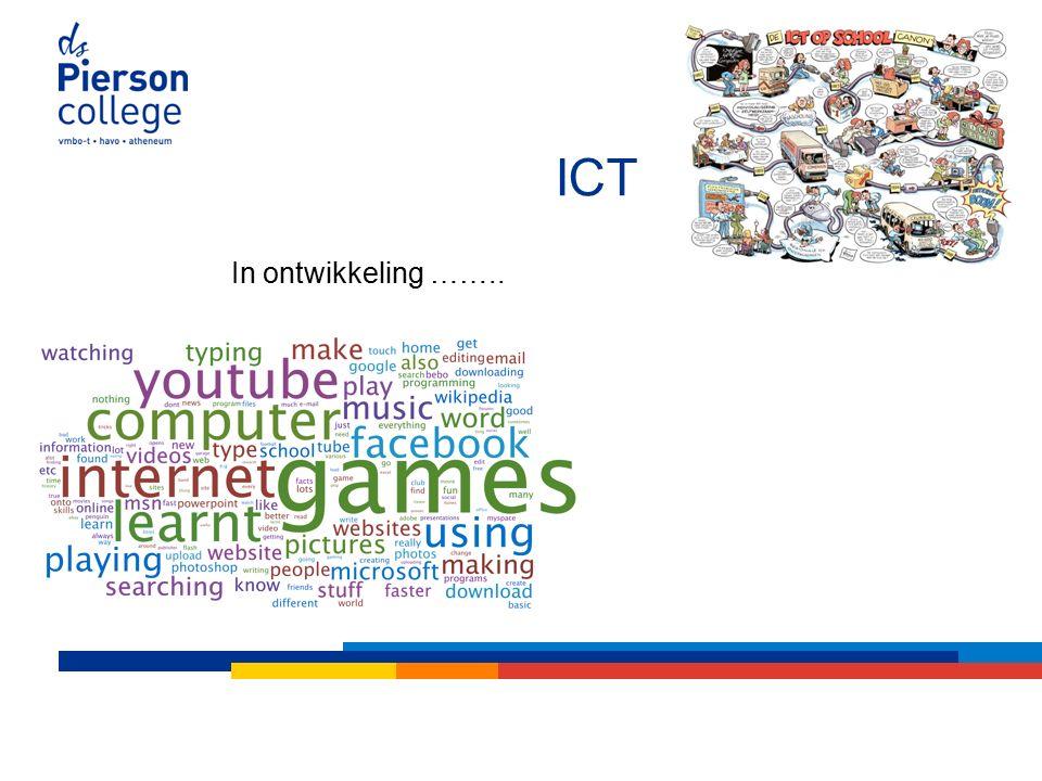 ICT In ontwikkeling ……..