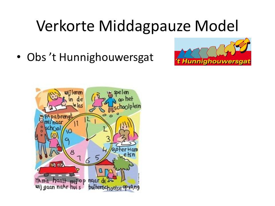 Verkorte Middagpauze Model Obs 't Hunnighouwersgat