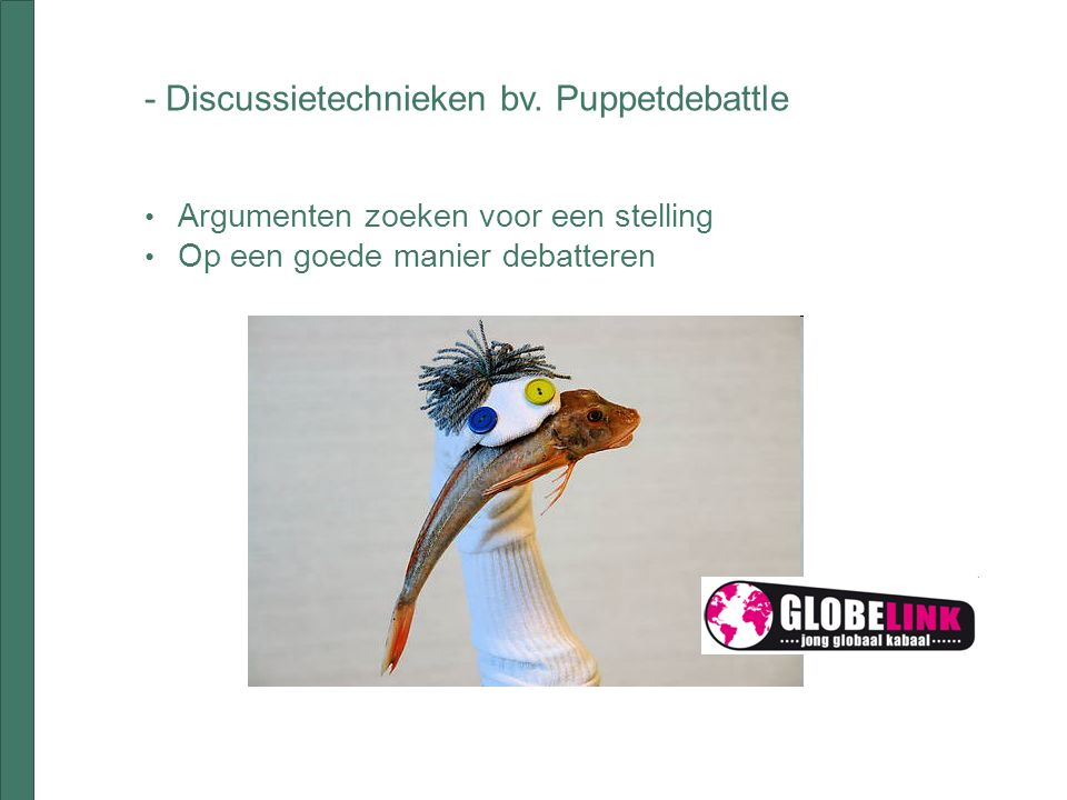 - Discussietechnieken bv.