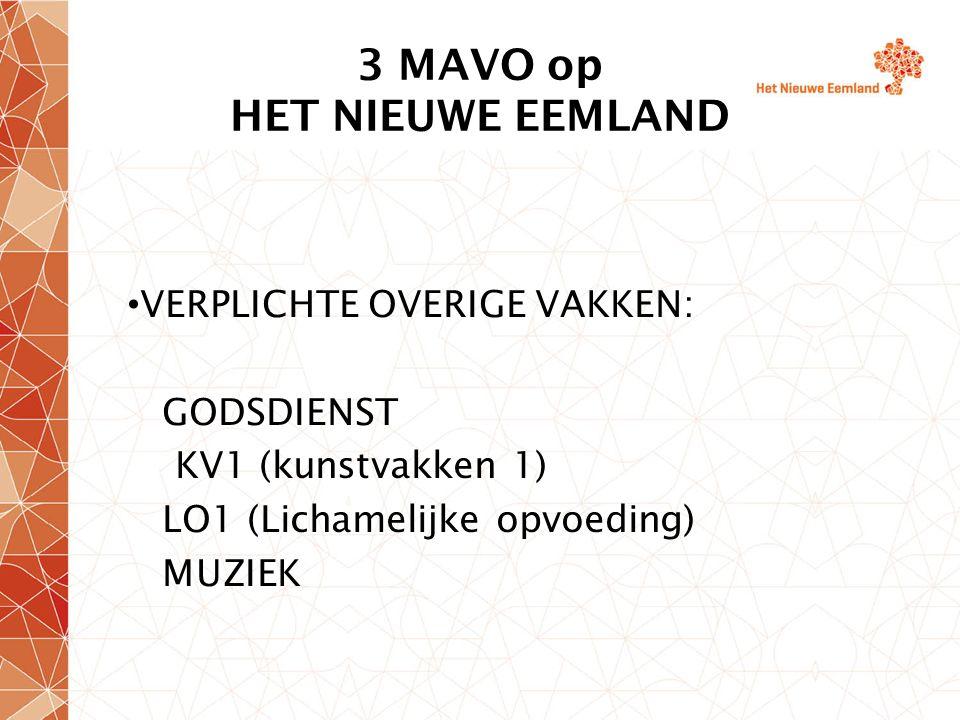 3 en 4 MAVO vooruitblik slaag-/zakregeling Verplicht rekenexamen Voor de vakken Nederlands en rekenen mag er op de eindlijst slechts 1 onvoldoende (5) gehaald zijn