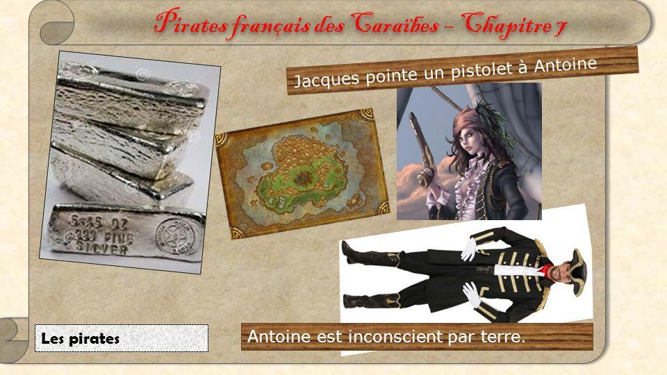 Pirates français des Caraïbes – Chapitre 6 L'attaque Antoine et François s'attaquent.