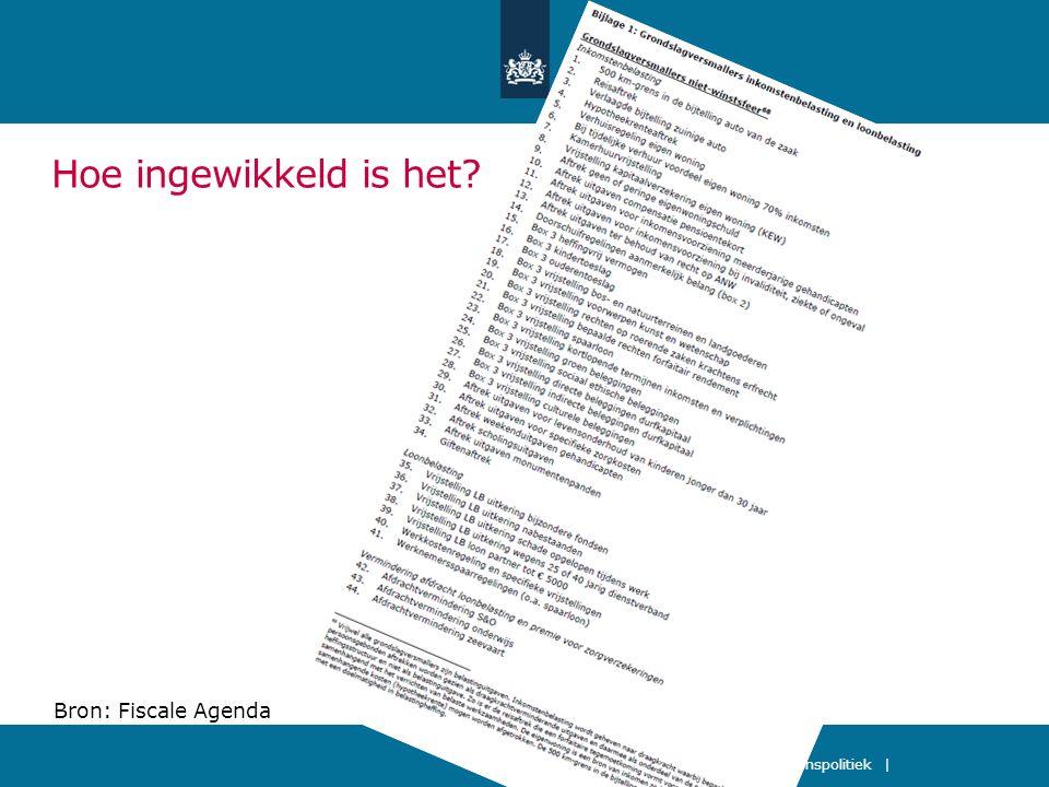 Een vlaktaks van 32,5% en vrijwel alle aftrekposten en heffingskortingen afgeschaft Sociale zekerheid, fiscaliteit en inkomenspolitiek   9 februari 2012