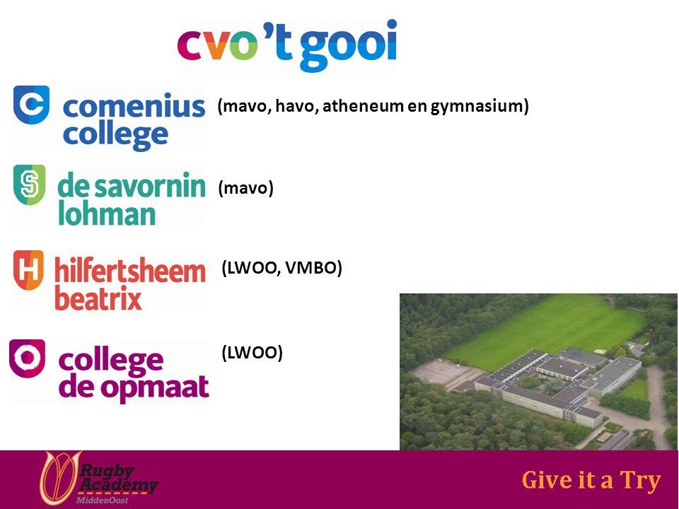 (mavo, havo, atheneum en gymnasium) (mavo) (LWOO, VMBO) (LWOO)