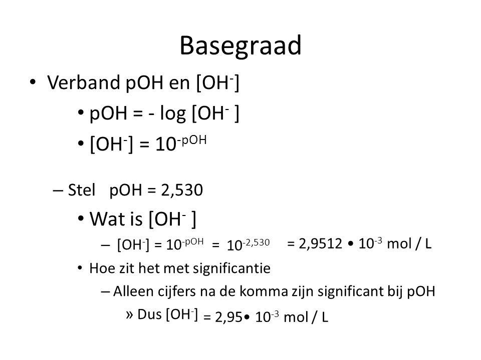pH berekening Zo doe je dat Bereken aantal mol H 3 O + bv met een verhoudingstabel.
