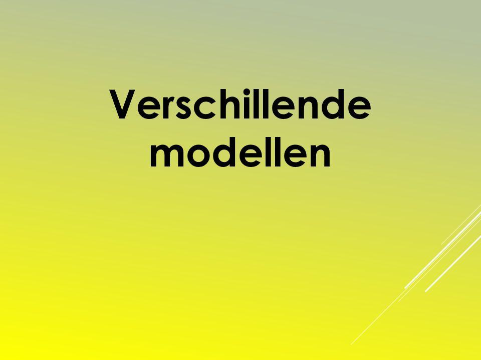 Verschillende modellen