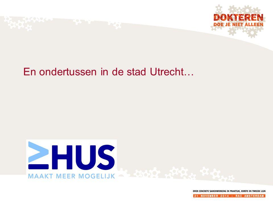 En ondertussen in de stad Utrecht…