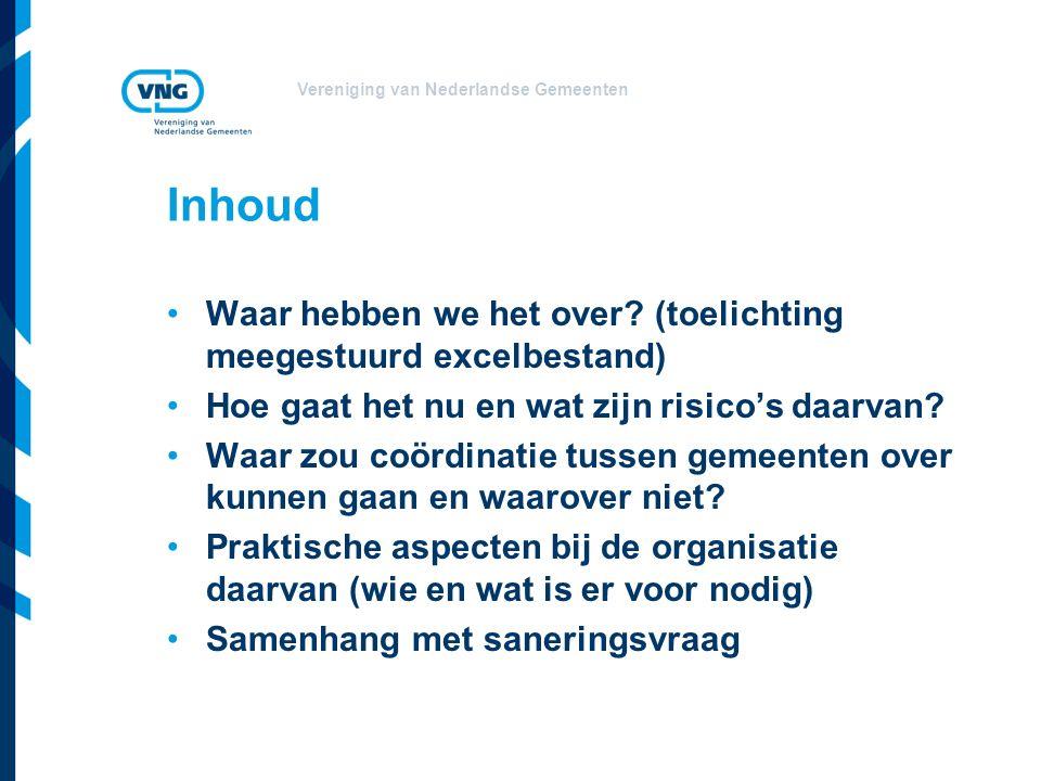 Vereniging van Nederlandse Gemeenten Waar hebben we het over.
