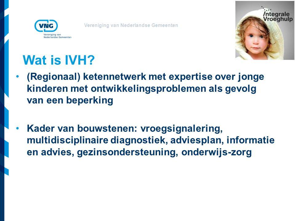 Vereniging van Nederlandse Gemeenten Wat is IVH.