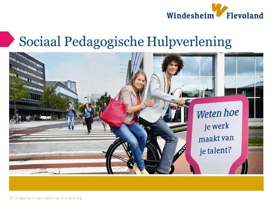 Windesheim zet kennis in werking Sociaal Pedagogische Hulpverlening