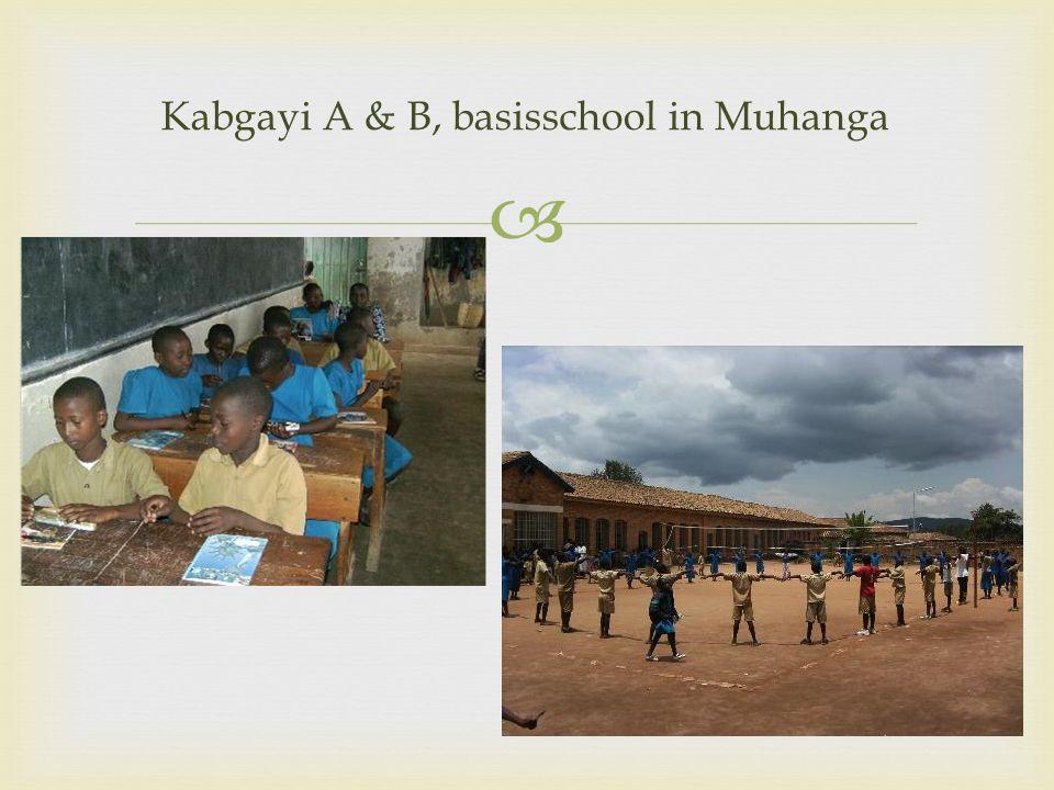 Kabgayi A & B, basisschool in Muhanga