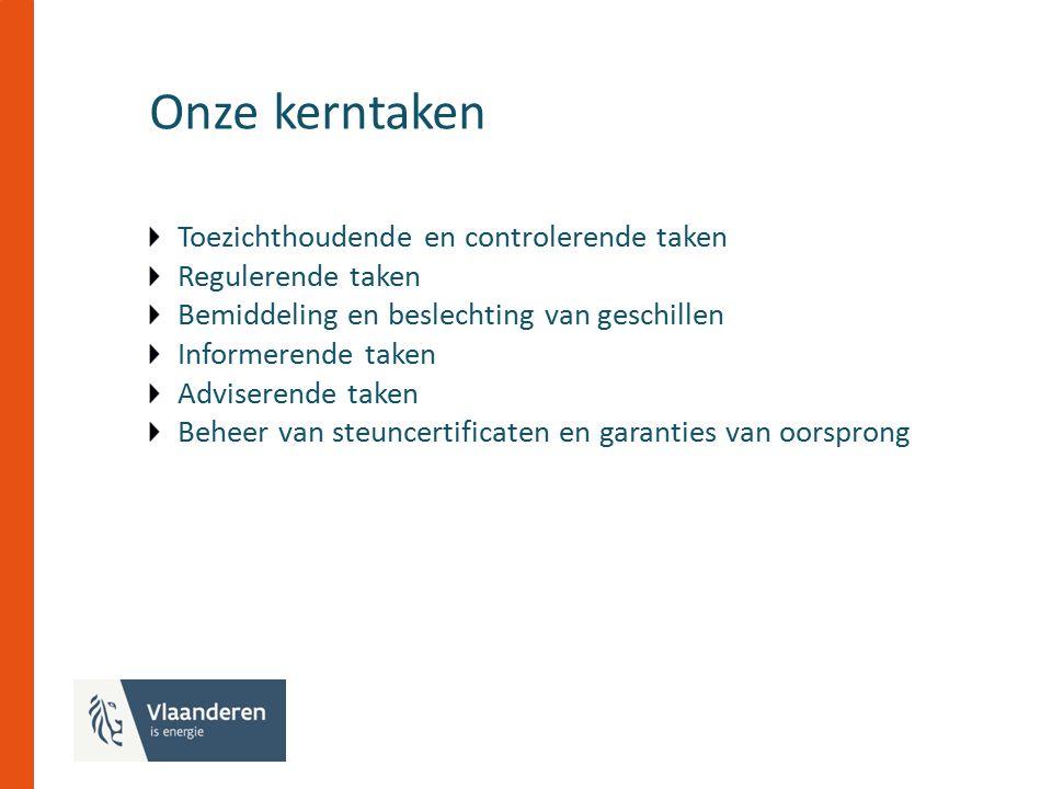 Regulering van de distributienettarieven Tariefmethodologie 2015-2016 Beperkt aantal wijzigingen aan bestaande tariefstructuur Start van de afbouw van de historische saldi
