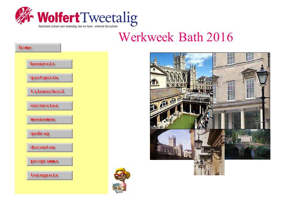 Werkweek Bath 2016
