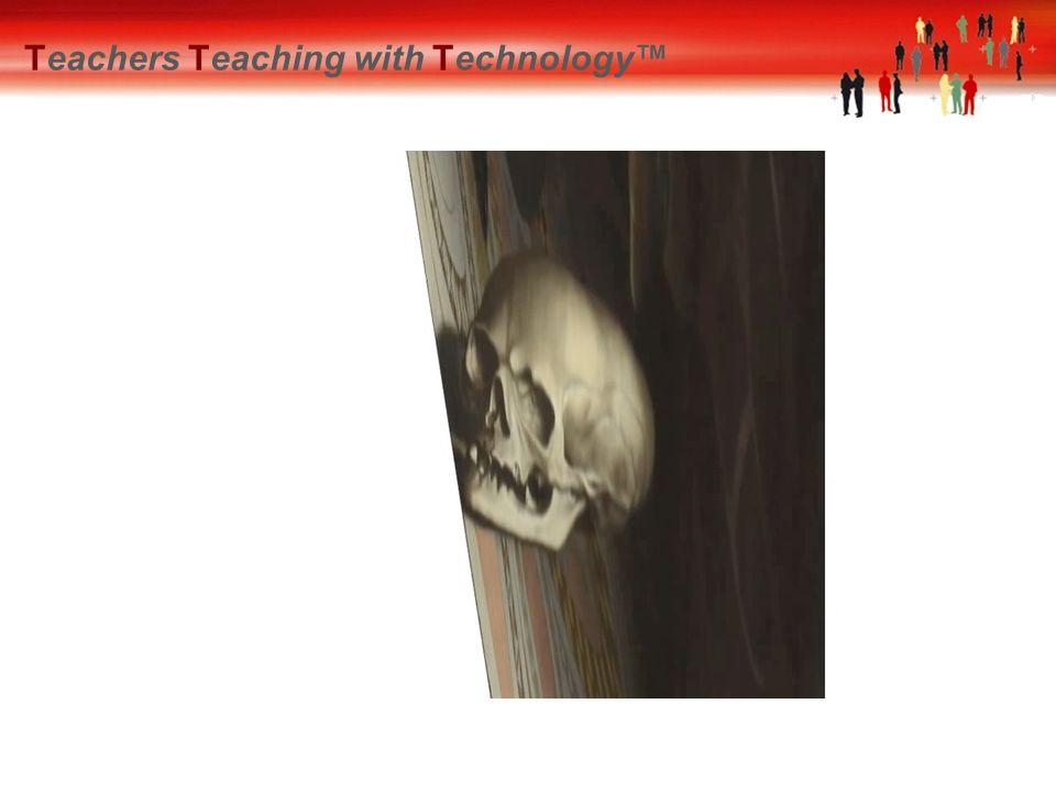 Teachers Teaching with Technology™ De constructie Opdracht Cilindrisch spiegelden