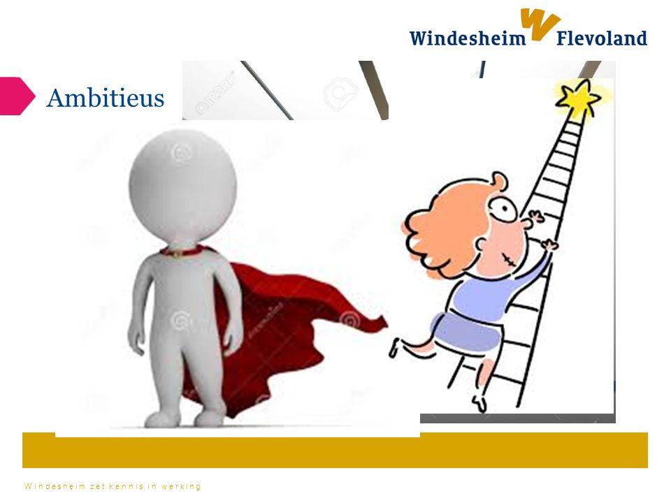 Windesheim zet kennis in werking Betrokken eigen tekst invoeren, maximaal 4 regels Weten hoe