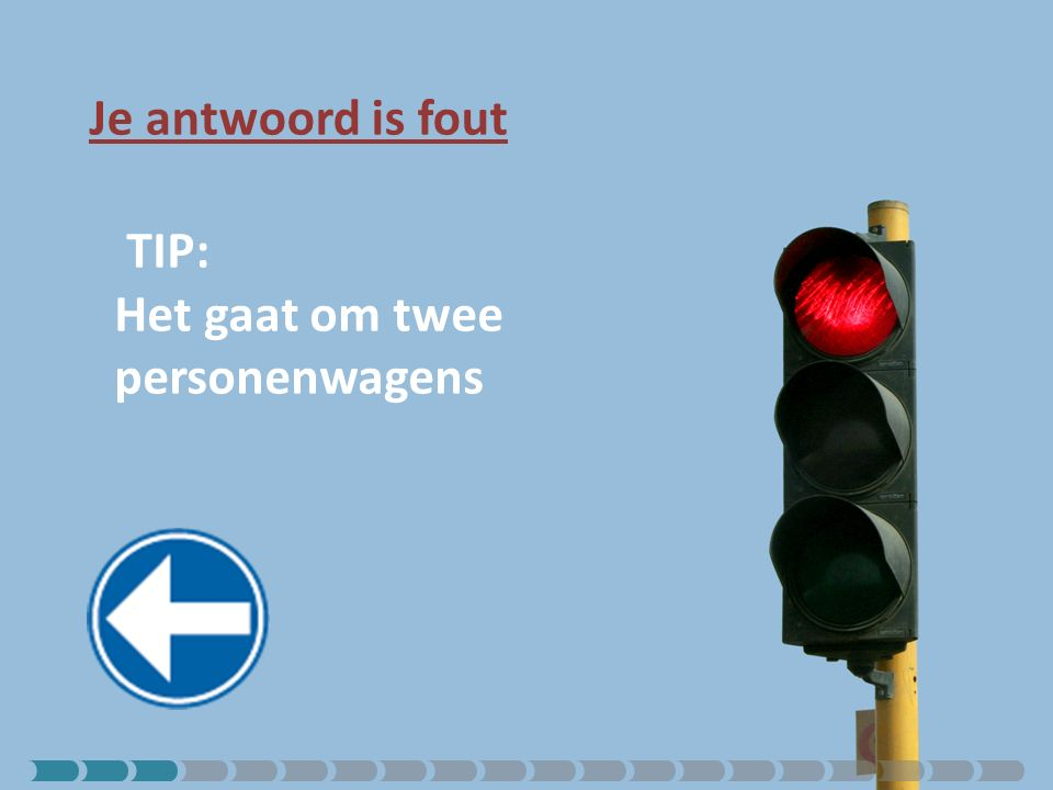 Je antwoord is juist.