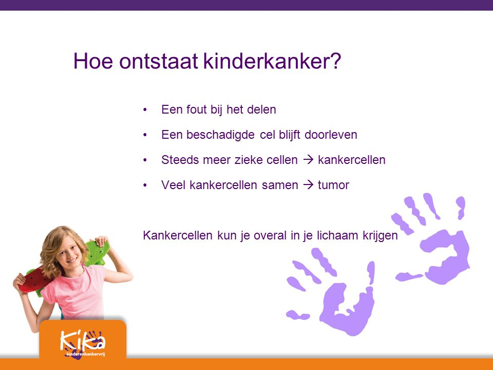 Hoe ontstaat kinderkanker.