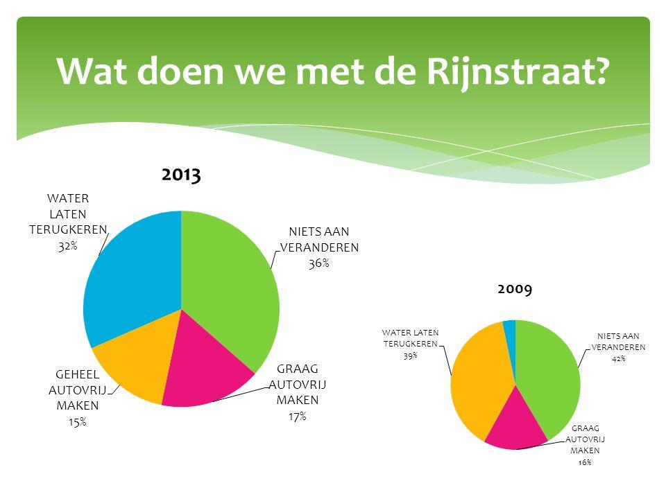 Wat doen we met de Rijnstraat?