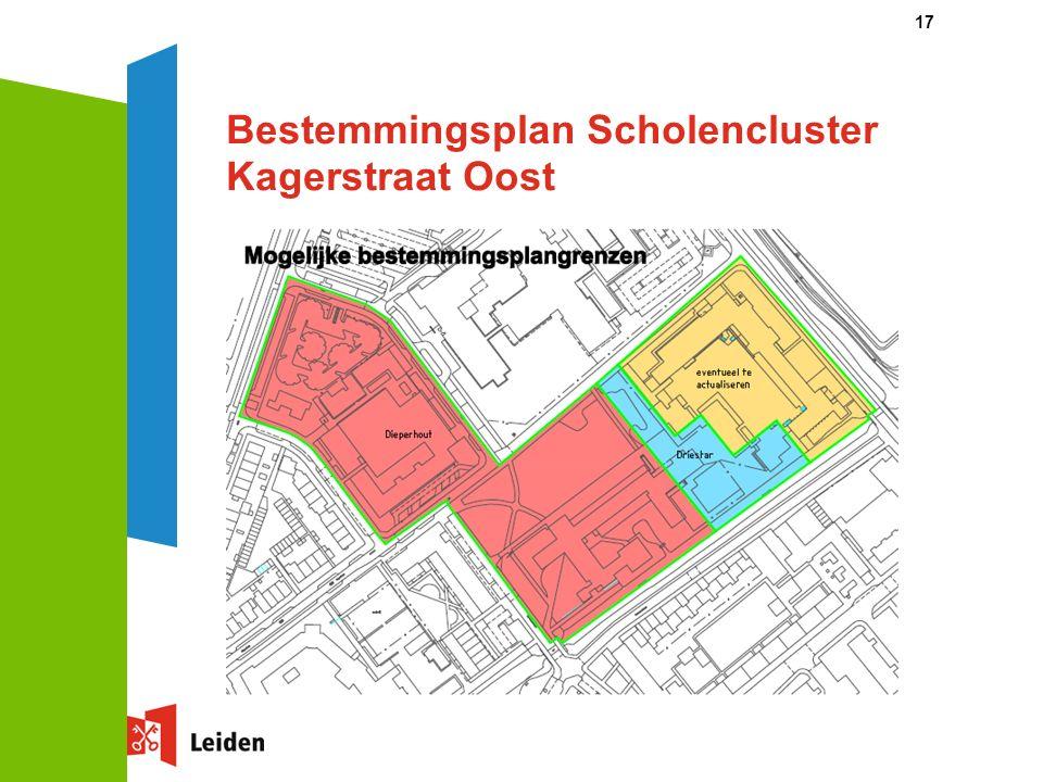 17 Bestemmingsplan Scholencluster Kagerstraat Oost