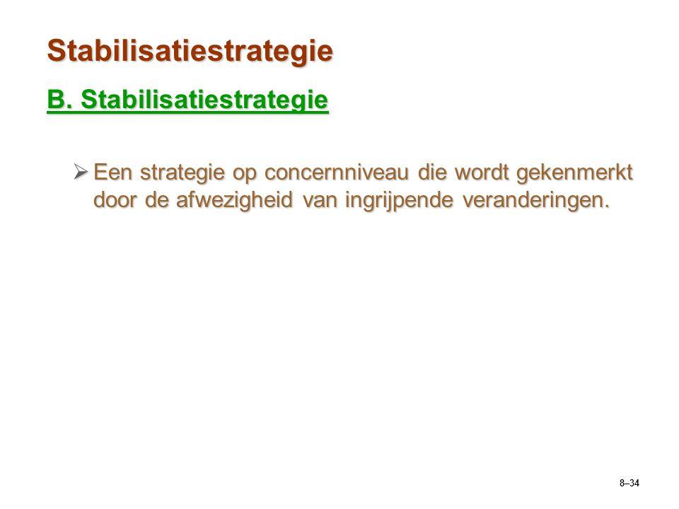 8–34 Stabilisatiestrategie B.