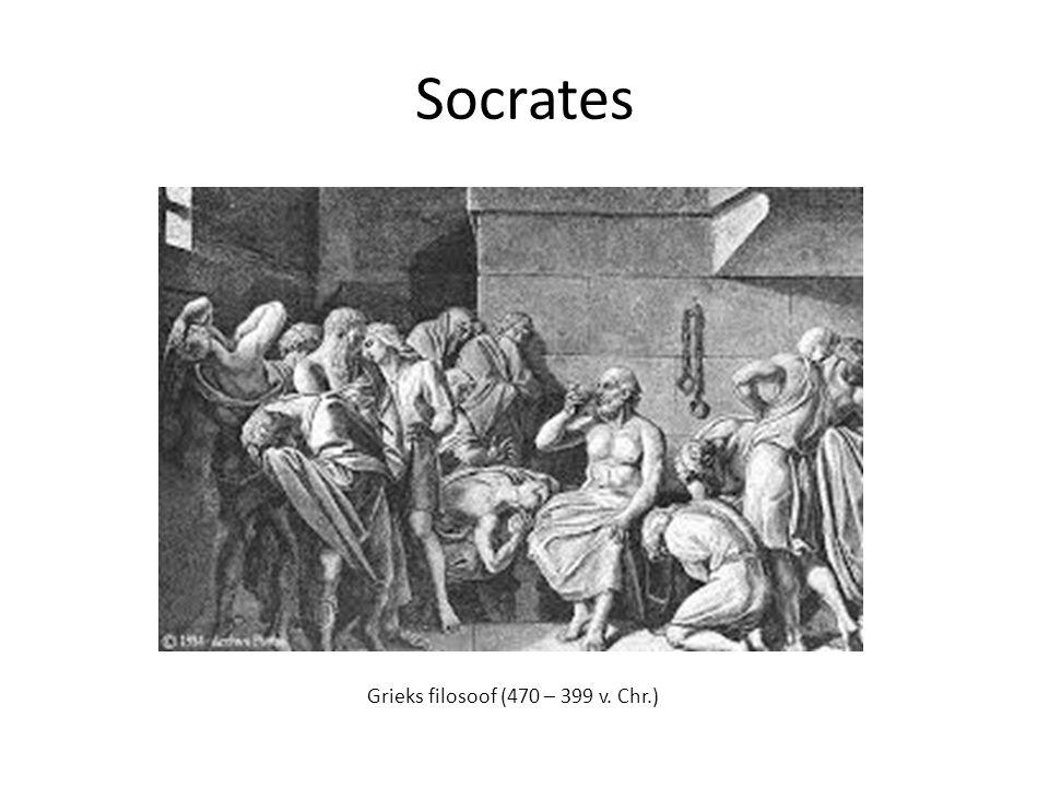 Socrates Grieks filosoof (470 – 399 v. Chr.)