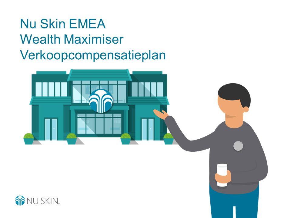 Nu Skin EMEA Wealth Maximiser Verkoopcompensatieplan