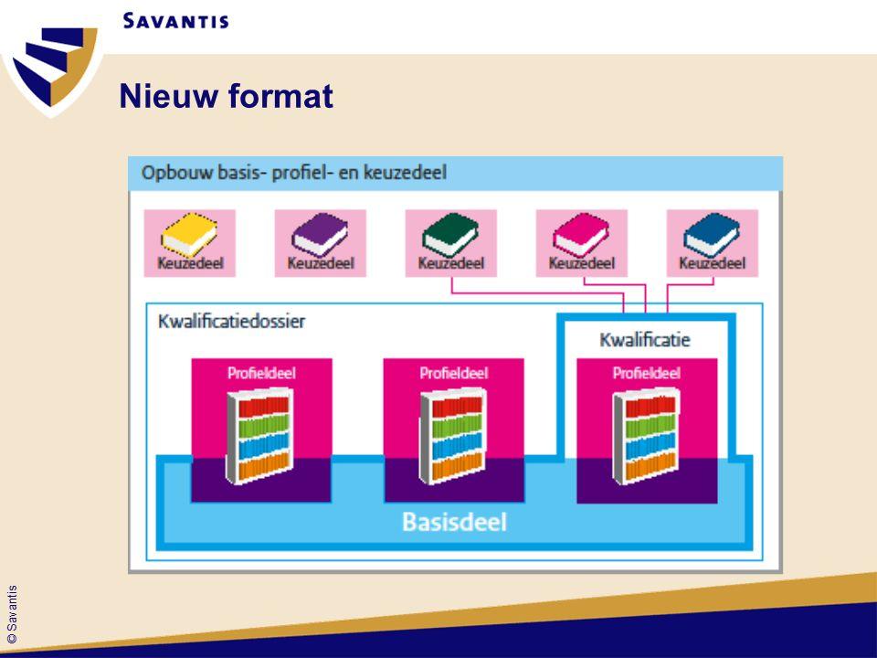 © Savantis Nieuw format