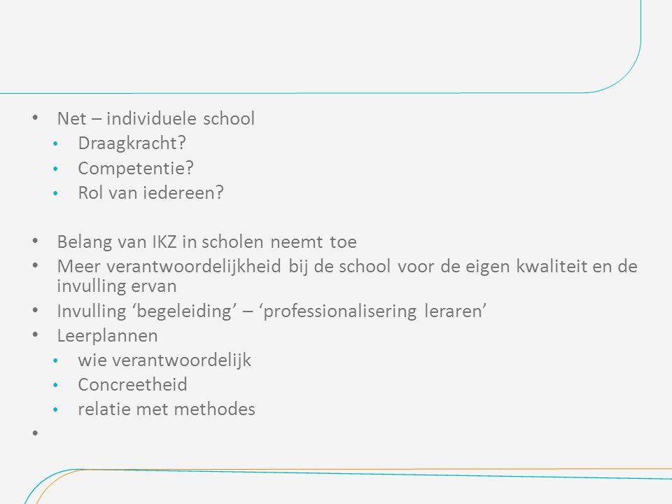 Net – individuele school Draagkracht.Competentie.