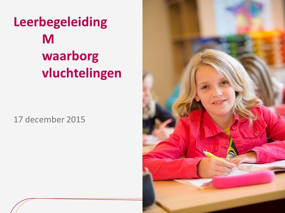 Leerbegeleiding M waarborg vluchtelingen 17 december 2015