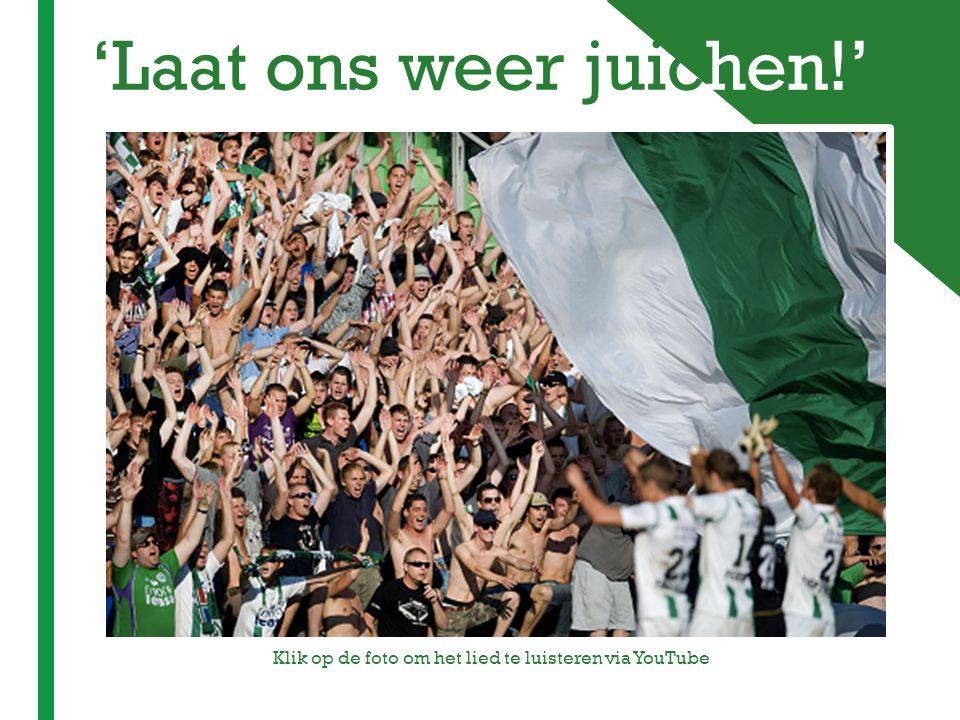 + 'Laat ons weer juichen!' Klik op de foto om het lied te luisteren via YouTube