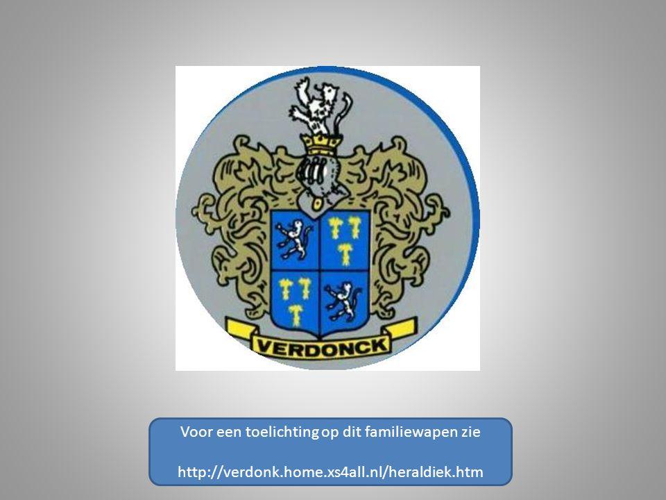 Voor een toelichting op dit familiewapen zie http://verdonk.home.xs4all.nl/heraldiek.htm