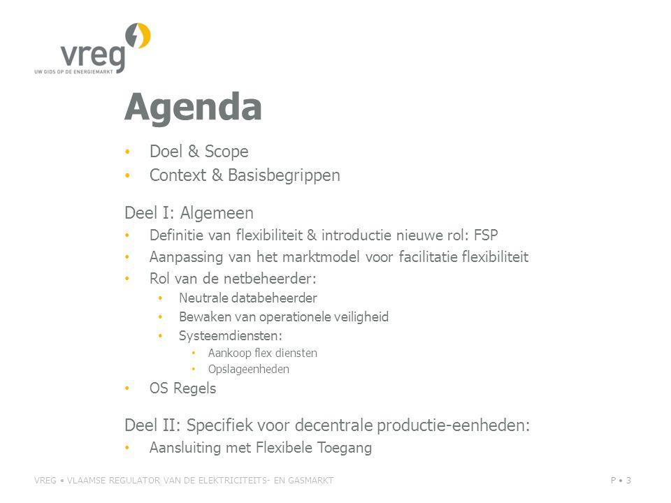 Agenda Doel & Scope Context & Basisbegrippen Deel I: Algemeen Definitie van flexibiliteit & introductie nieuwe rol: FSP Aanpassing van het marktmodel