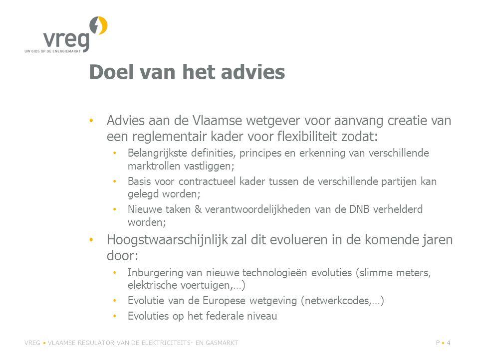 Doel van het advies Advies aan de Vlaamse wetgever voor aanvang creatie van een reglementair kader voor flexibiliteit zodat: Belangrijkste definities,