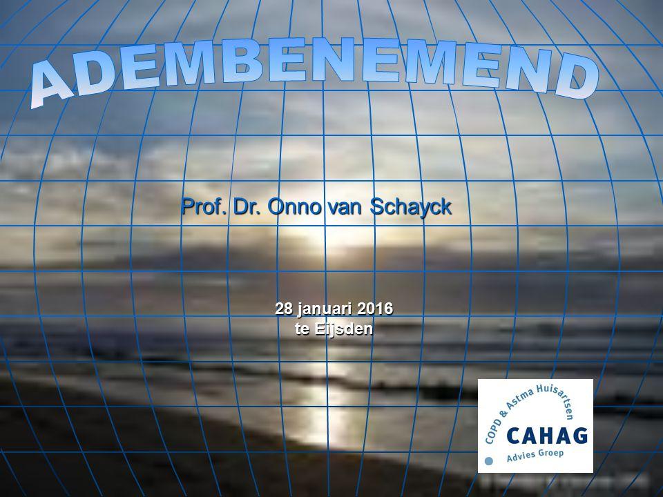 Prof. Dr. Onno van Schayck 28 januari 2016 te Eijsden