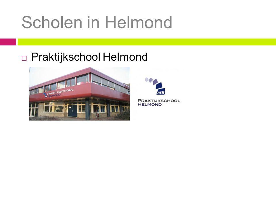 Scholen in Helmond  Praktijkschool Helmond