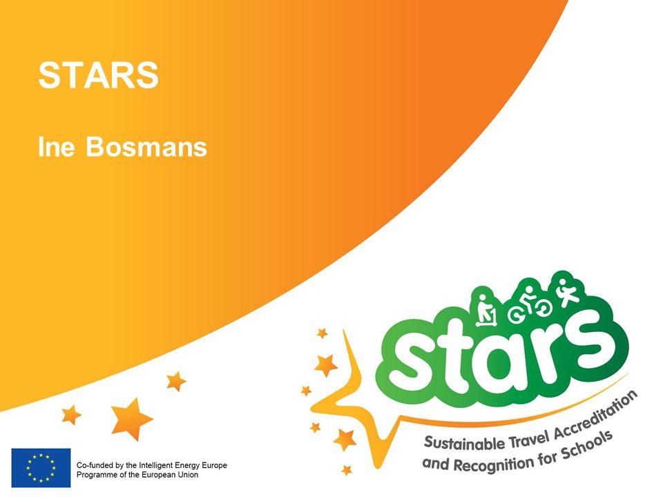 STARS Partners ▪ LEPT (UK) – Coördinator 8 landen, 9 partners ▪ Bielefeld (DE) ▪ Brussels - Mobiel 21 (BE) ▪ Budapest (HU) ▪ Edinburgh (UK) ▪ LB Hackney (UK) ▪ Krakow (PL) ▪ Madrid (ES) ▪ Milan (IT) ▪ Province of Noord-Brabant (NL) 3 Expertisebureaus ▪ DTV (NL) ▪ Gea21 (ES) ▪ Polis (EU)