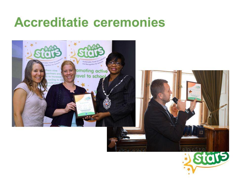 Accreditatie ceremonies