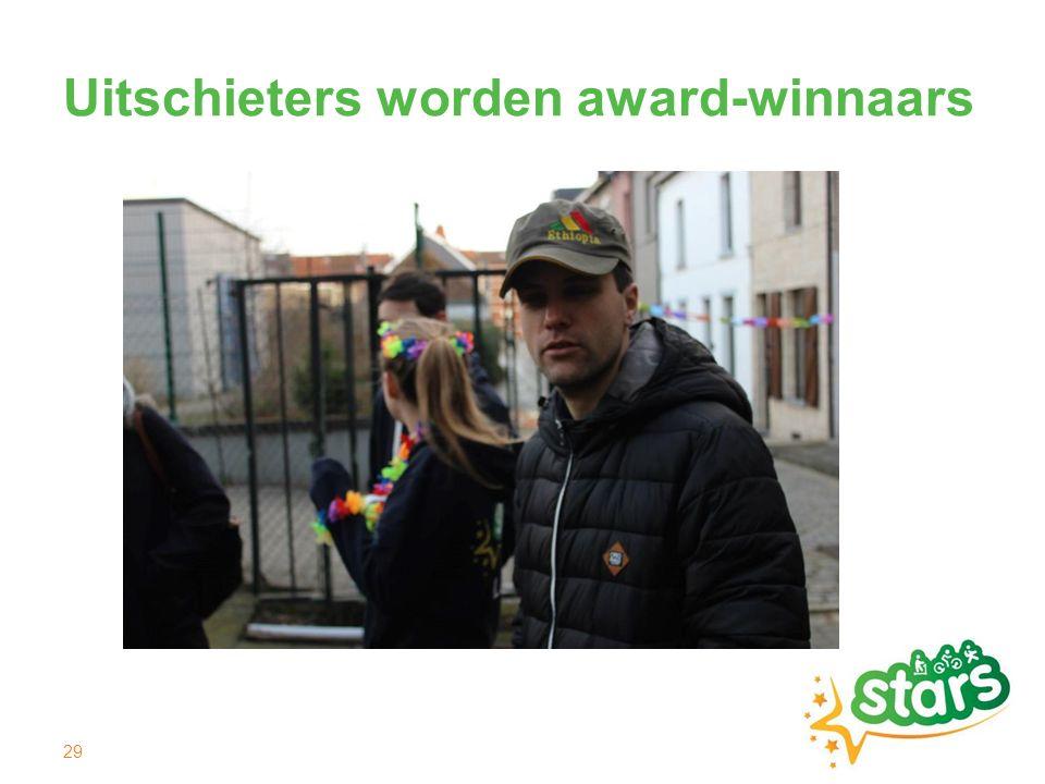 Uitschieters worden award-winnaars 29