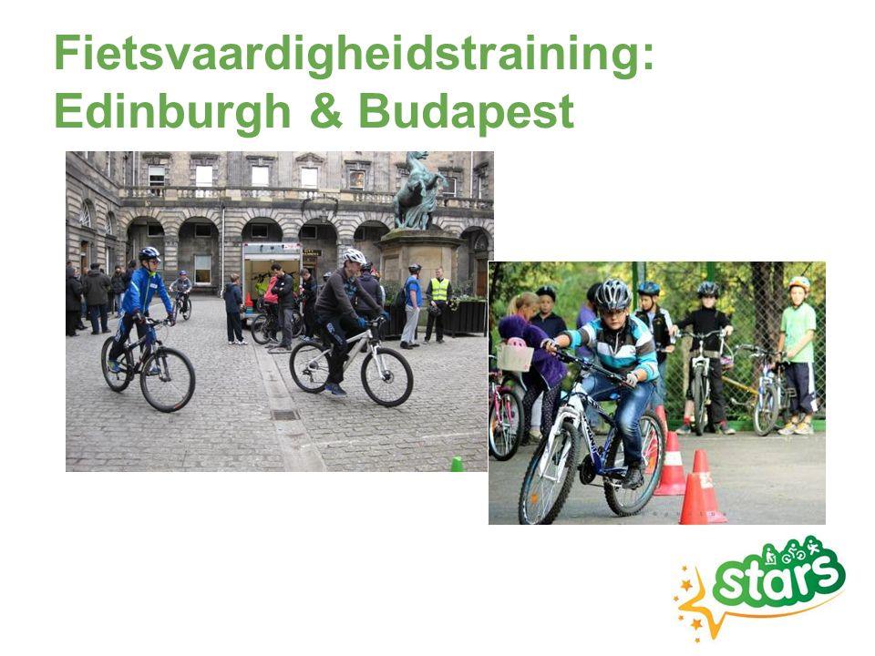 Fietsvaardigheidstraining: Edinburgh & Budapest