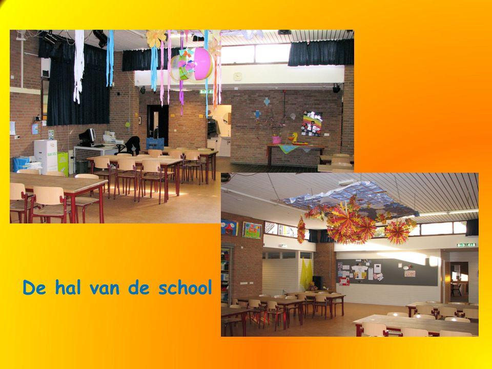 De hal van de school