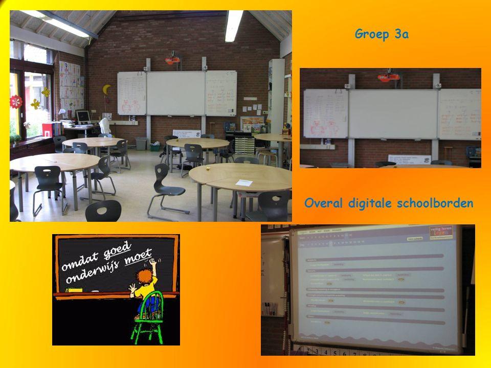 Groep 3a Overal digitale schoolborden