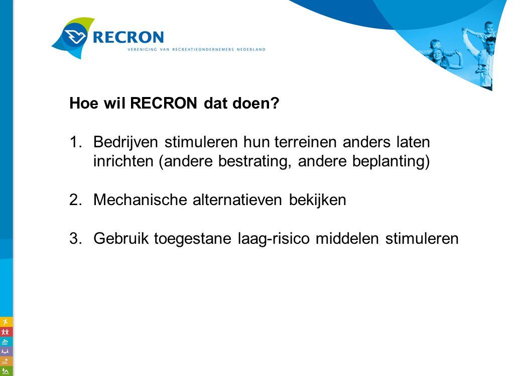 Hoe wil RECRON dat doen.