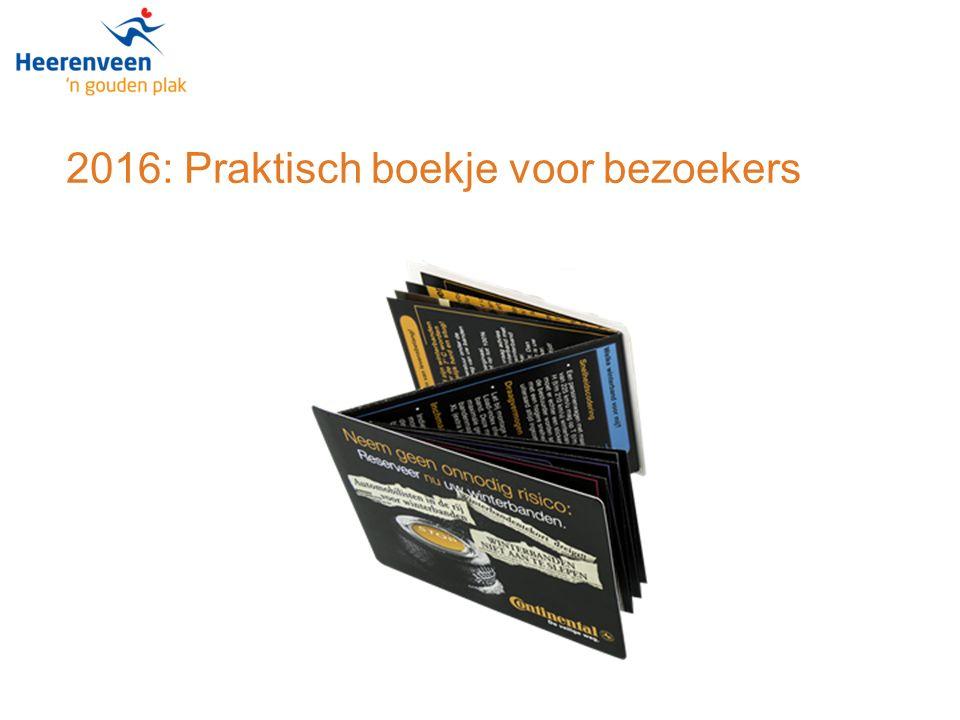 2016: Praktisch boekje voor bezoekers