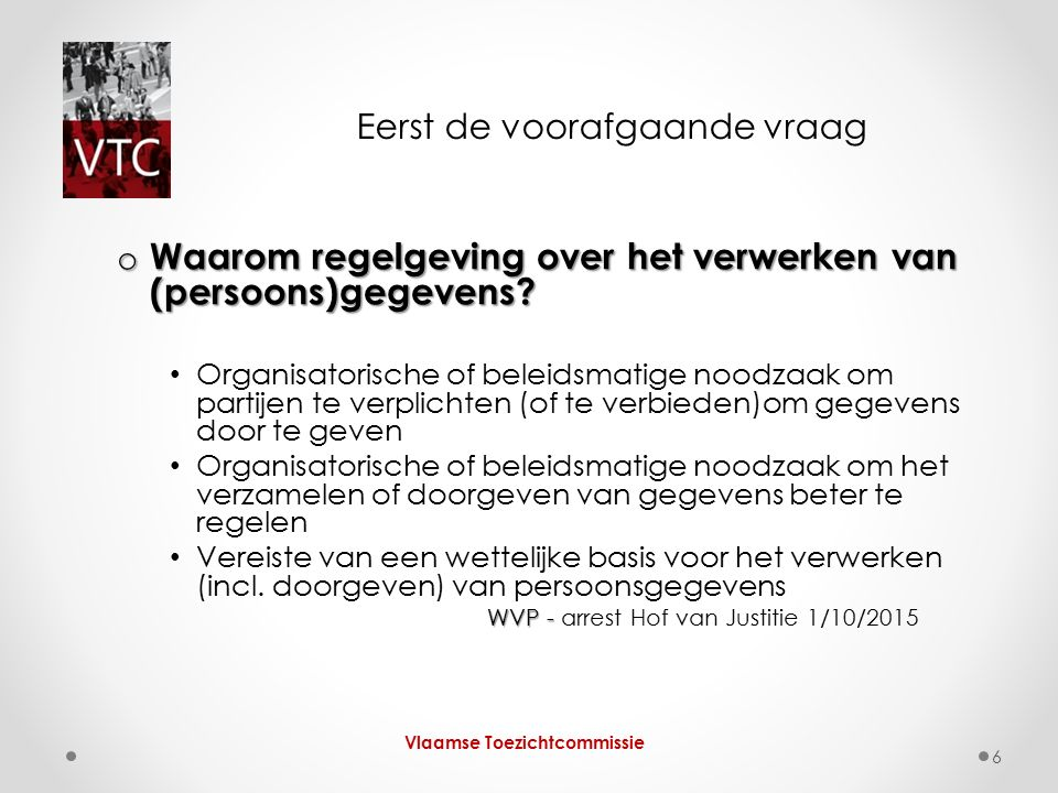 Wie.Wie. Vlaamse Toezichtcommissie 27 Art.