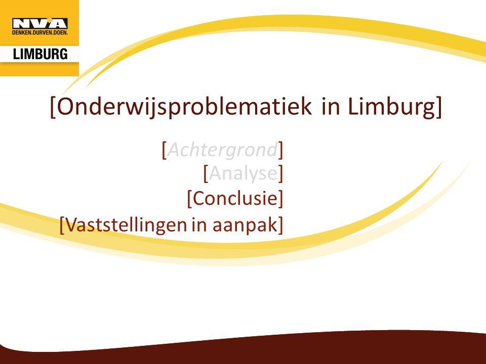Onderwijsproblematiek Conclusie 1.