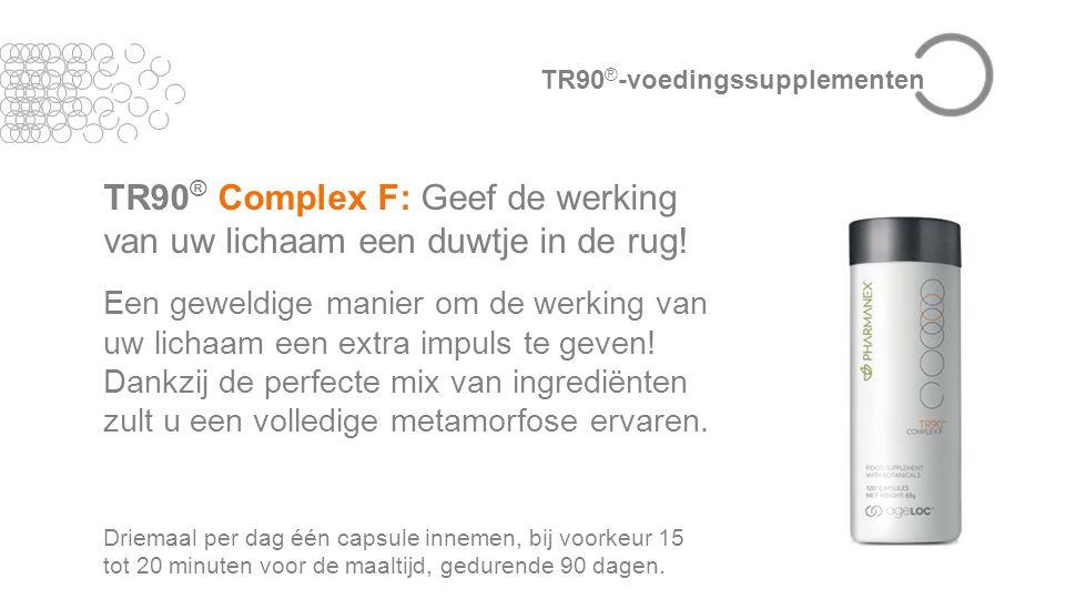 TR90 ® Complex F: Geef de werking van uw lichaam een duwtje in de rug.